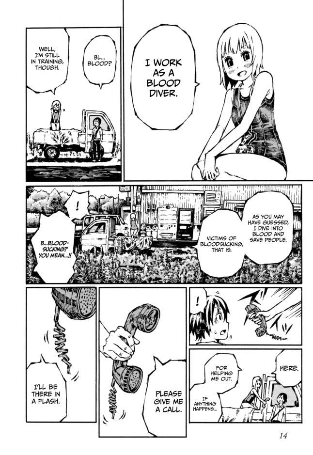 Chimoguri Ringo to Kingyobachi Otoko -01